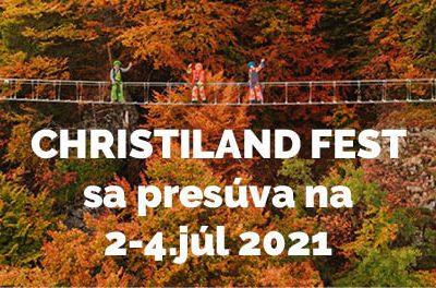 Christiland fest 2021 a